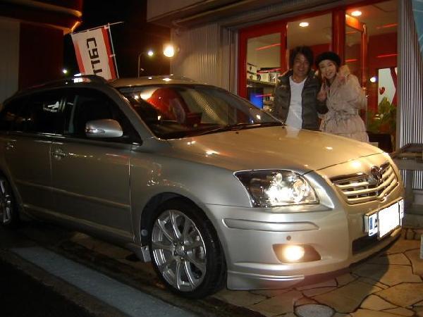 アベンシス★CN-H500WDカーナビ取り付け