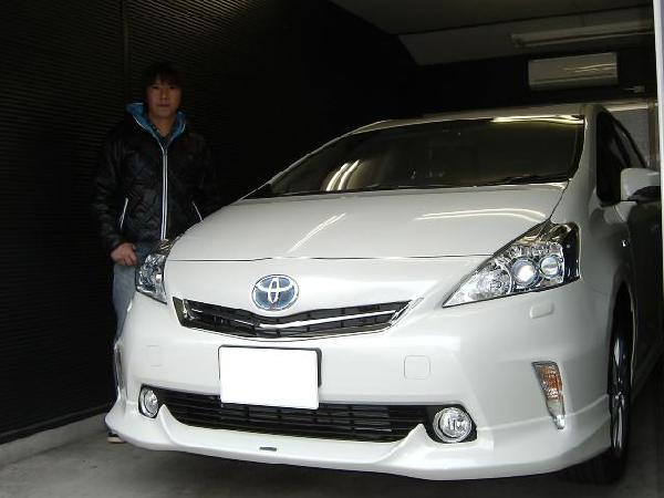 プリウスα☆AVIC-ZH09CS・カーナビ取り付け