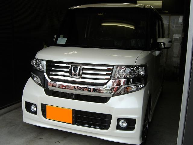 N-BOX☆大阪・カーナビ取り付け