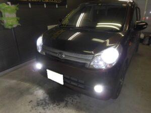 大阪・ミラ☆ヘッドライト・フォグランプ・バックランプLED化