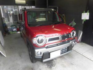 スズキ ハスラー・大阪☆MOSCONI RS130スピーカー交換