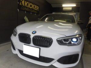 大阪・BMW1シリーズ☆DSPプロセッサー取り付け